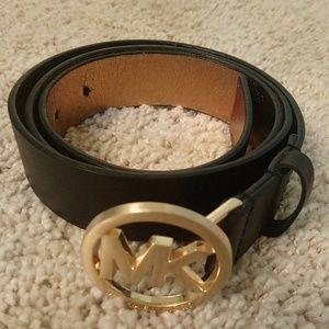 Michael Kors Woman's Black Belt